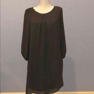 H&M Long Sleeve Gray Dress